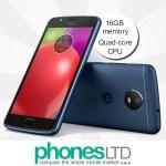 Motorola / Lenovo MOTO E4 16GB Oxford Blue upgrade deals