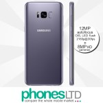 Samsung Galaxy S8+ (S8 Plus) 64GB Dual SIM Orchid Grey contract deals