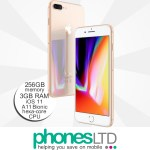 iPhone 8 Plus 256GB Gold upgrade deals