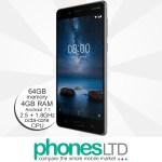 Nokia 8 64GB Steel Silver upgrade deals