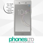 Sony Xperia XZ1 Warm Silver deals