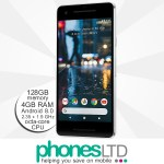 Google Pixel 2 128GB Clearly White upgrade deals