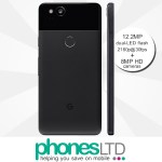 Google Pixel 2 128GB Just Black contract deals