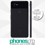 Google Pixel 2 XL 64GB Just Black contract deals