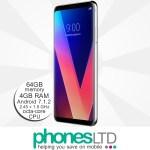 LG V30 Cloud Silver upgrade deals