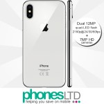 iPhone X 64GB Silver contract deals