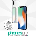 iPhone X 64GB Silver upgrade deals