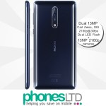 Nokia 8 128GB Glossy Blue contract deals