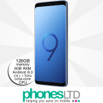 Samsung Galaxy S9+ (S9 Plus) 128GB Coral Blue upgrades