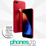 iPhone 8 Plus 256GB (PRODUCT)RED™ upgrades