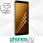 Samsung Galaxy A8 Gold deals