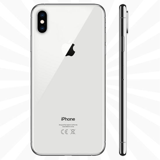 1450a8437487 iPhone XS Max 64GB Silver - Compare Contract & Upgrade Offers ...