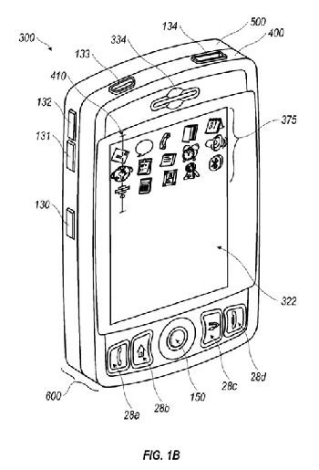 RIM BlackBerry patent shows slide-out keyboard