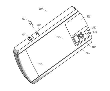 RIM patent application for Blackberry smartphone camera