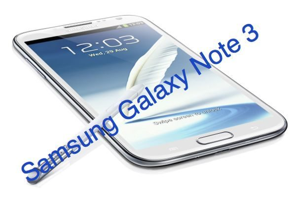 Samsung Galaxy Note 3 with 3GB RAM, specs explained