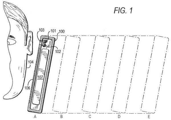 iPhone 5S or 6 could measure closeness of ear