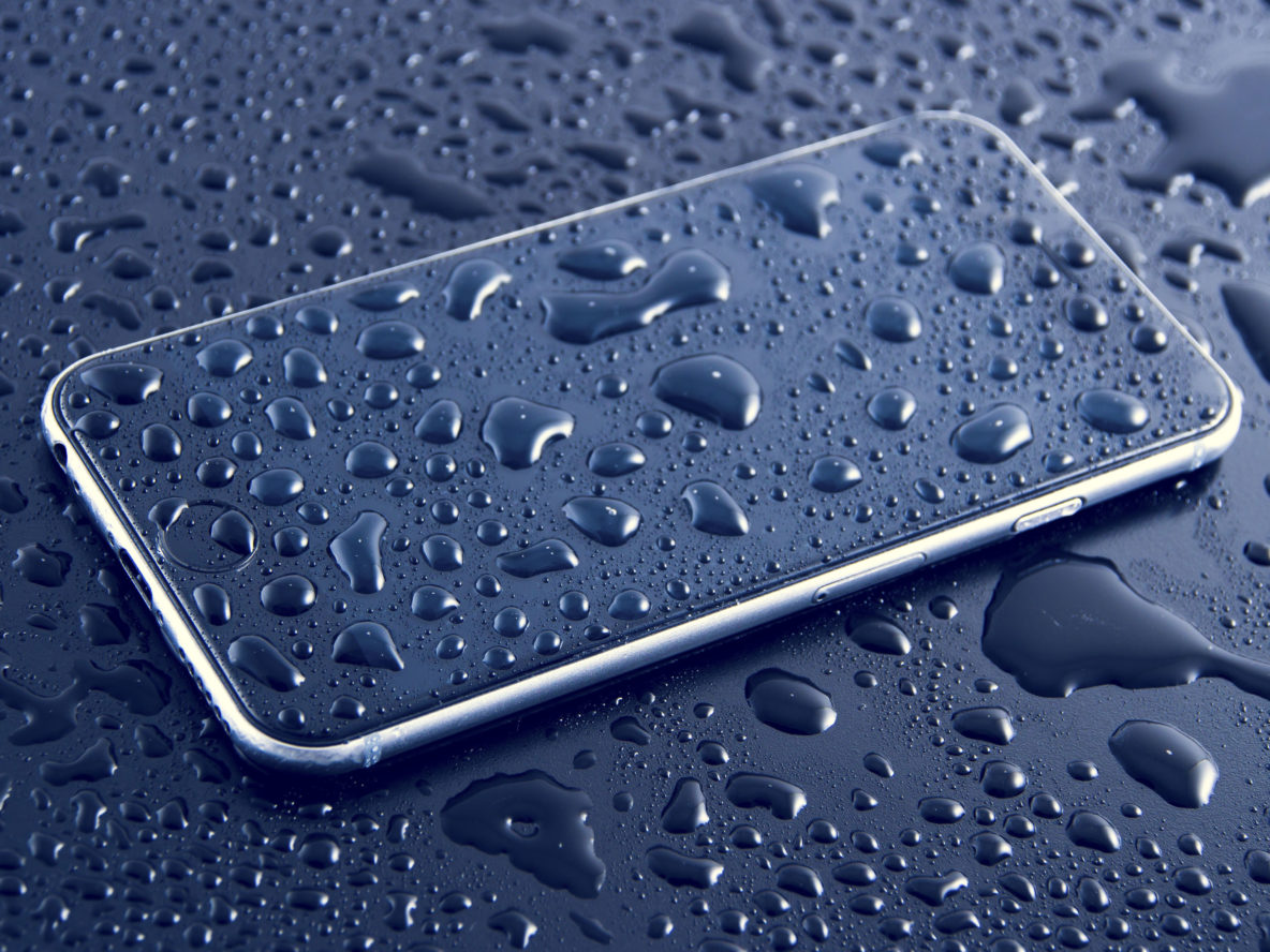 Cell phone water damage
