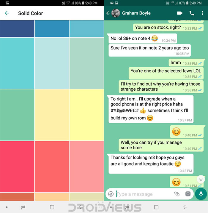 How To Increase Font Size In Gb Whatsapp GBWhatsApp Features