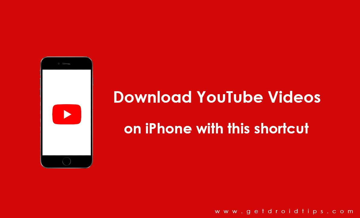 Download YouTube Videos on iPhone with this shortcut without
