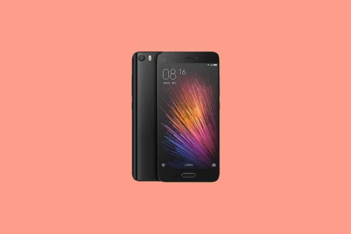 How to wipe cache partition on Xiaomi Mi 5