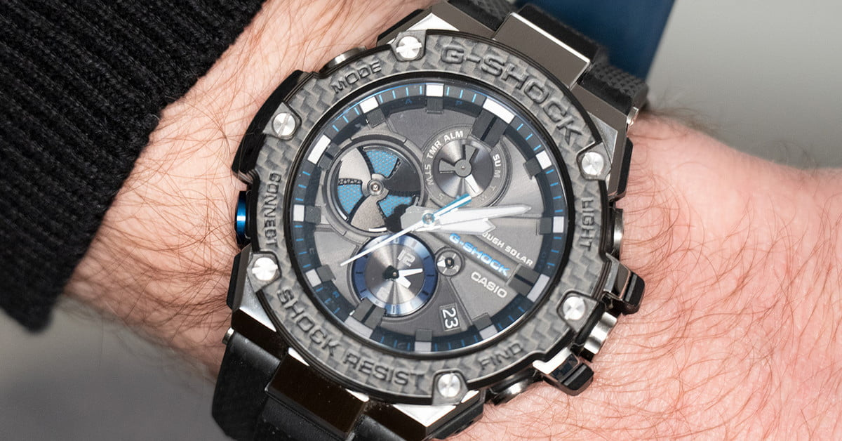 689348a92a Casio's All-Metal G-Shock Uses its Smart Tech Carefully, For Full ...
