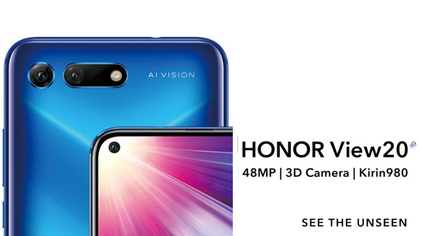 Honor View 20 launch India LIVE Streaming: World's 1st