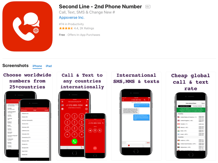 Virtual phone number apps are gaming the App Store with duplicates