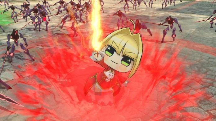 Fate/EXTELLA LINK nintendo switch bonus content LIL