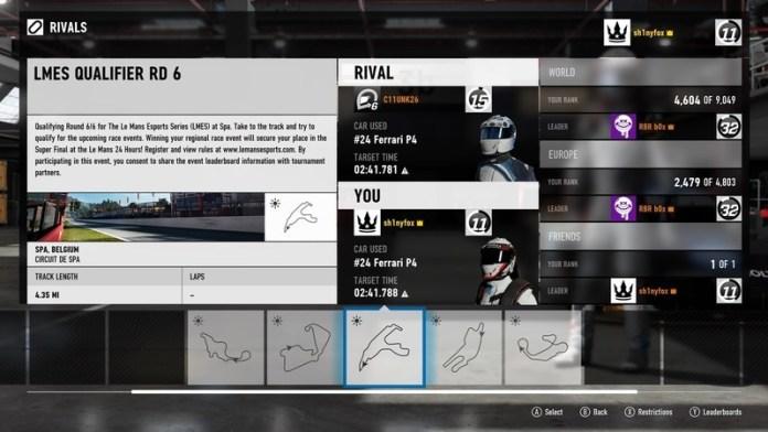 Forza 7 esports
