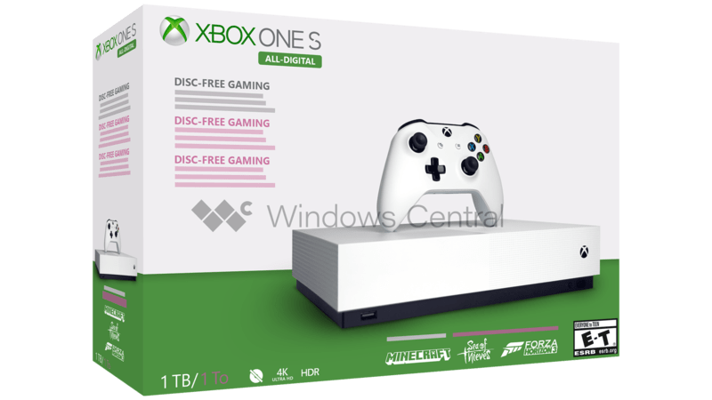 Image result for xbox one s all digital