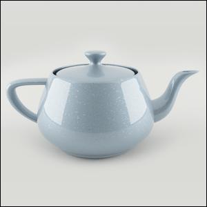 3D render of a teapot