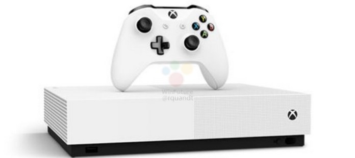 Xbox one S disc less