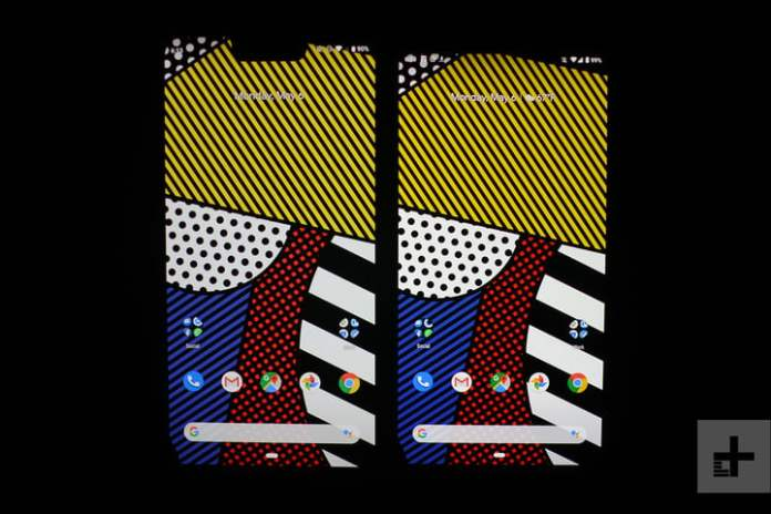 google pixel 3a review screen comparison