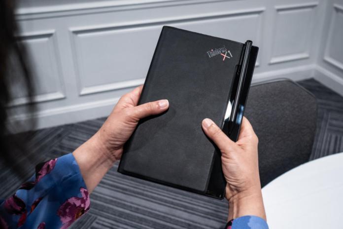 Lenovo ThinkPad X1 folding tablet