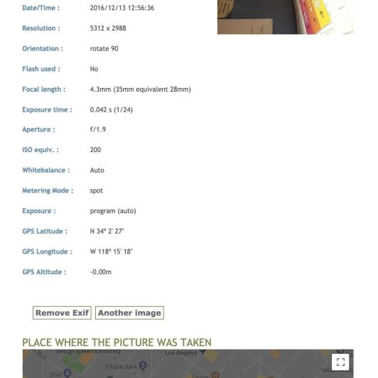 How to Obtain Valuable Data from Images Using Exif