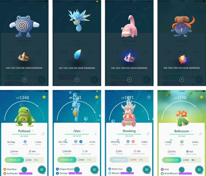 Pokémon Go: How to get and use Evolution Items - Phoneweek