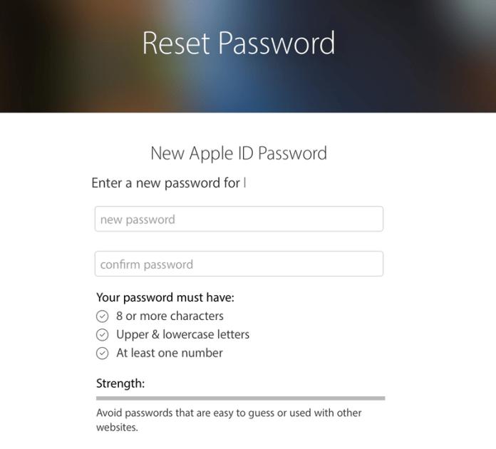 How to reset forgotten Apple ID password: Reset password