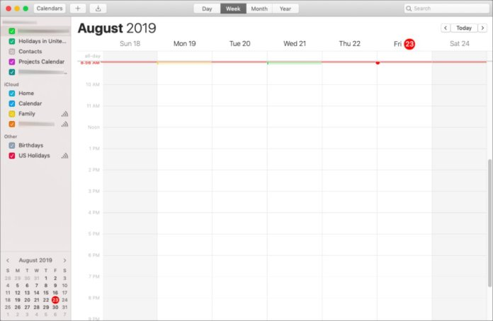 mac911 google calendar sync fail