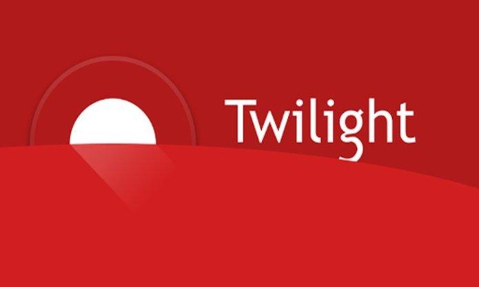 twilight bluelight filter app