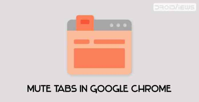 mute tabs in google chrome