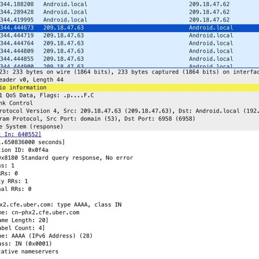 How to Spy on Traffic from a Smartphone with Wireshark