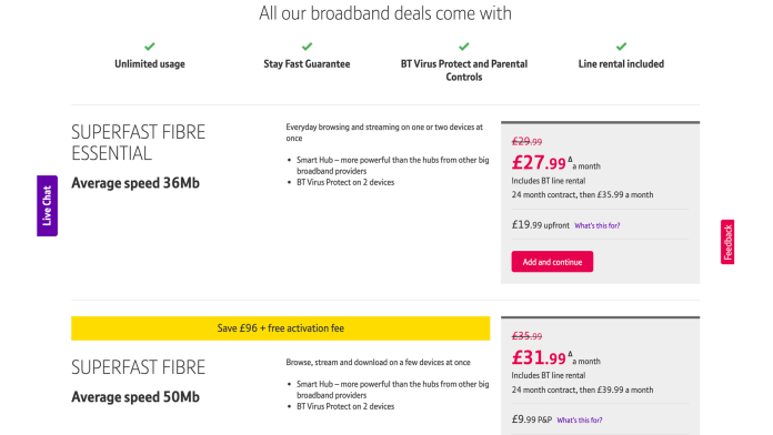 How to choose a broadband package