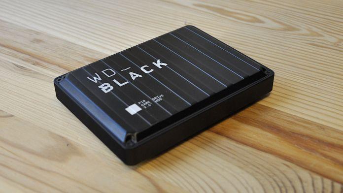 WD Black P10 hard drive