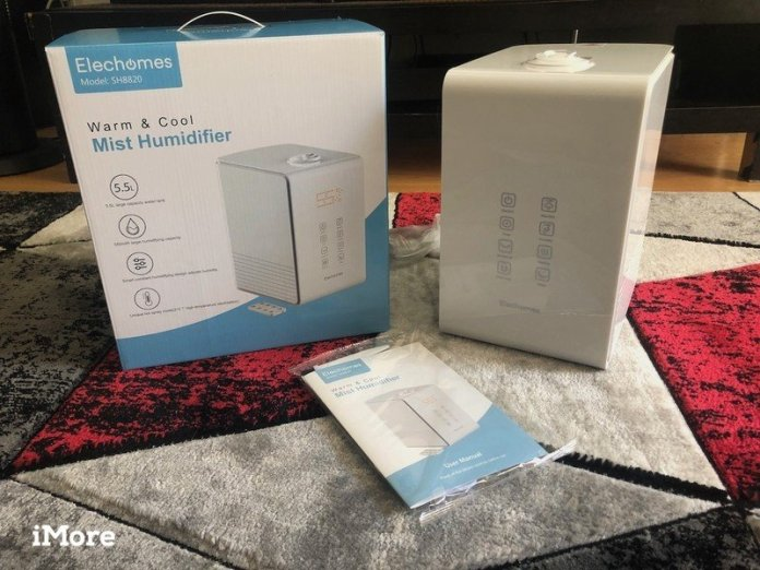 Elechomes Warm & Cool Mist Humidifier Review: Moisturize