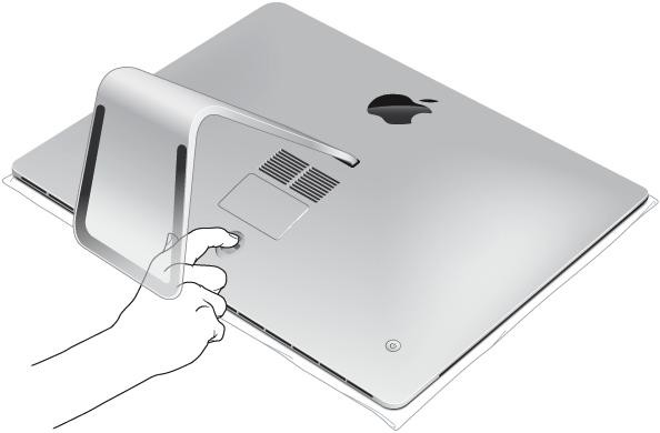 iMac memory button