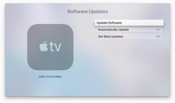 How to update tvOS on Apple TV: Settings