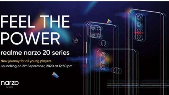 realme, realme smartphones, realme narzo series, realme narzo 20 series, realme narzo 20 series laun