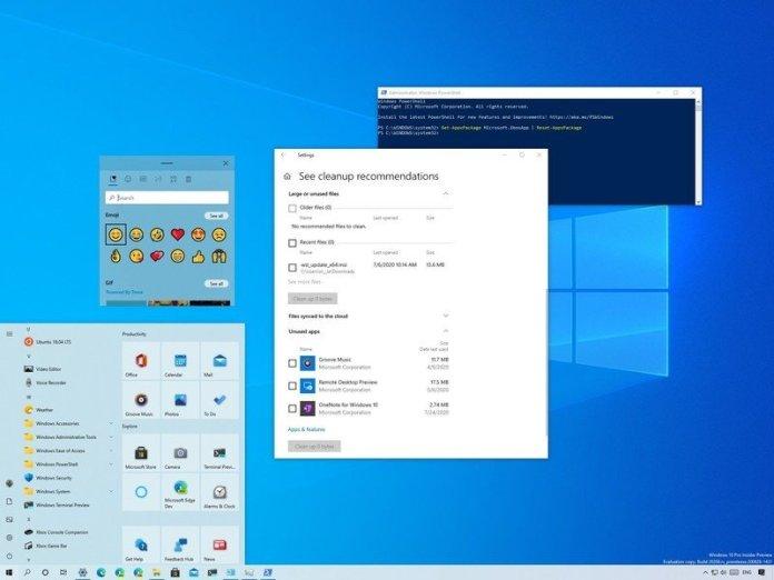 Windows 10 build 20206 features