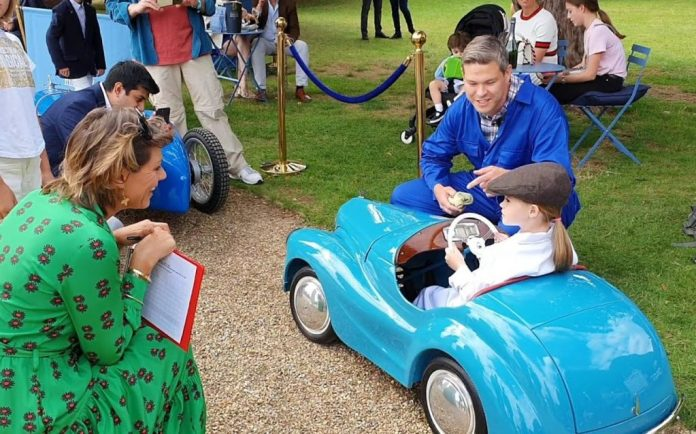 Austin J40 pedal car at the 2020 Concours of Elegance Junior Concours