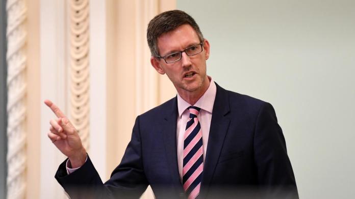 Transport Minister Mark Bailey